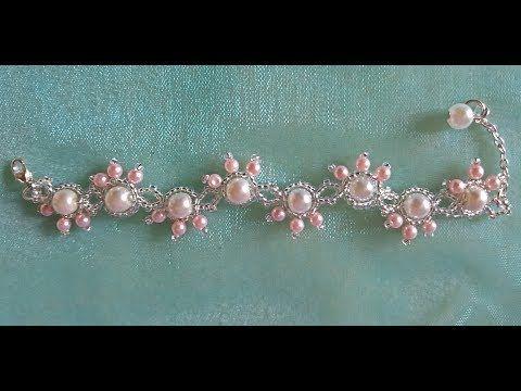 c71620f224b9 Delicada Pulsera de Perlas y Mostacillas...Clase  63 - YouTube ...