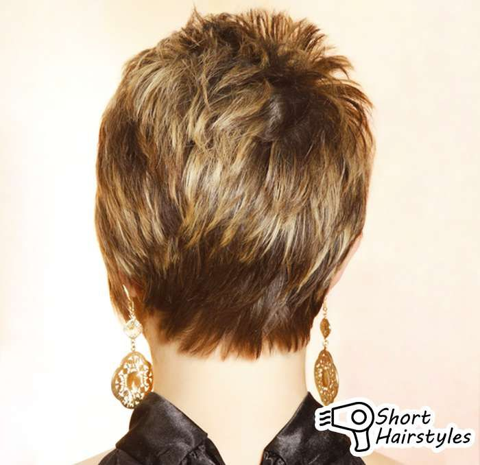 Short Layered Haircuts Front And Back View: Pix For > Short Haircuts For Women Front And Back View