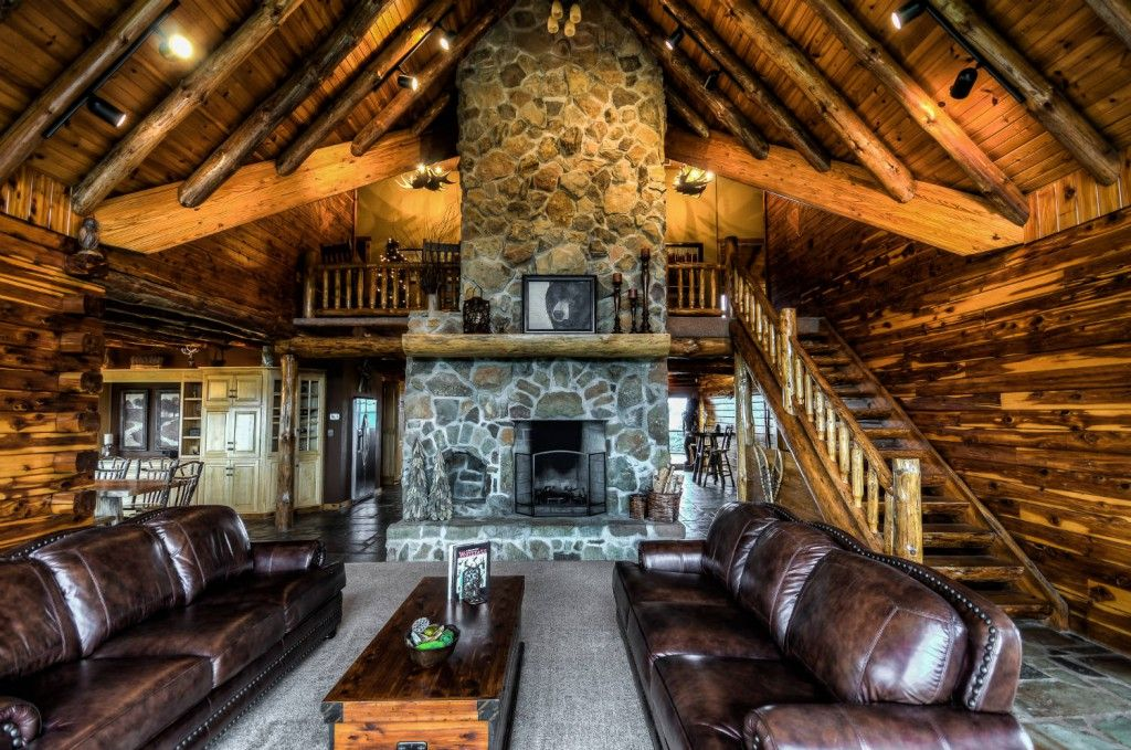 Incroyable Coshocton Crest Lodge   Ohio Luxury Log Cabin Rental, Amish Country, Salt  Fork State
