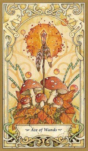 Mystic Faerie Tarot The World: Mystic Faerie Tarot (I Own This Deck)