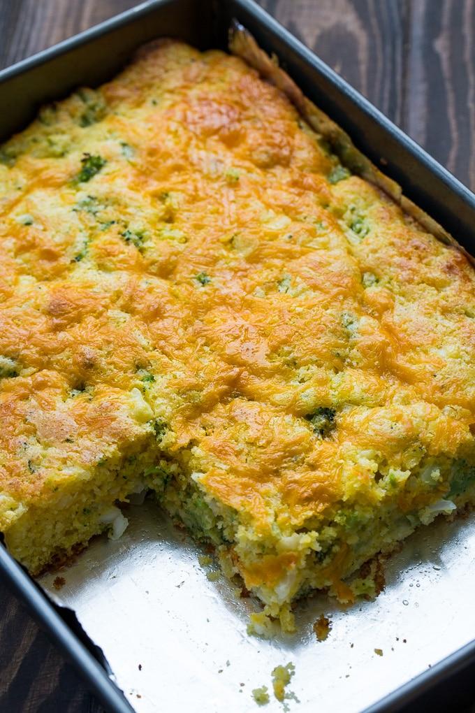 how to make broccoli cornbread with jiffy