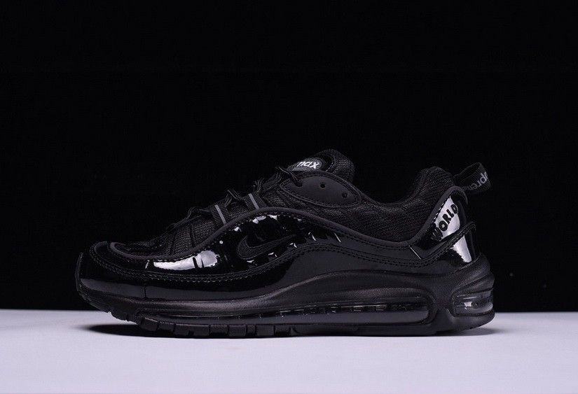 High Quality Supreme x Nike Air Max 98 'Black' | kangol