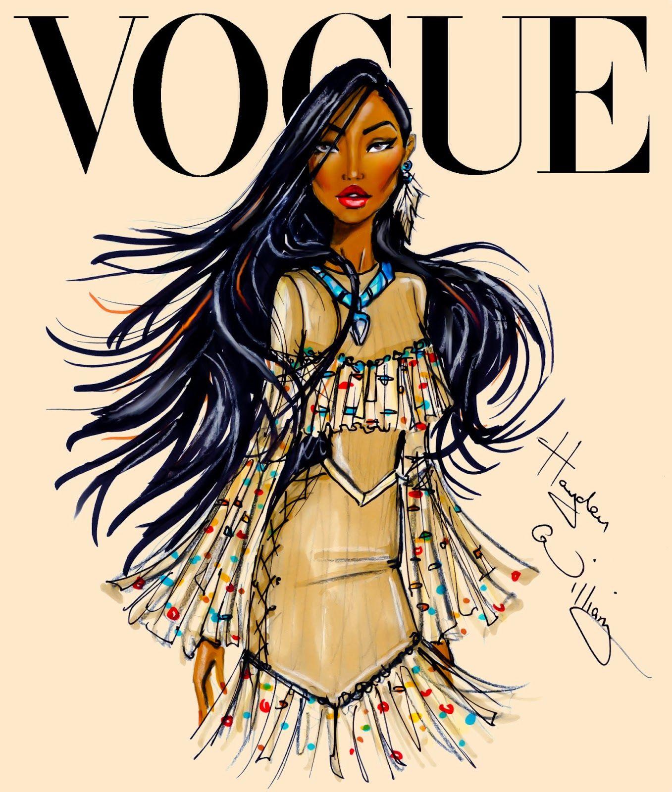 Hayden Williams Fashion Illustrations: Disney Divas For