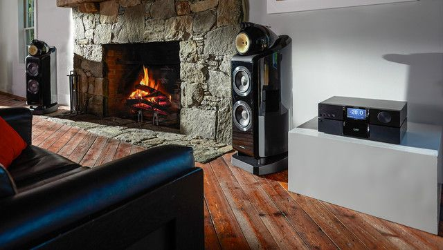 living room speakers. b w speakers Living Room Modern with BW bowers and wilkens  fireplace surrounds home electronics