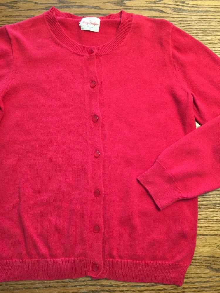Crewcuts Girls Size 10 Red Long Sleeve Cardigan Sweater | eBay ...