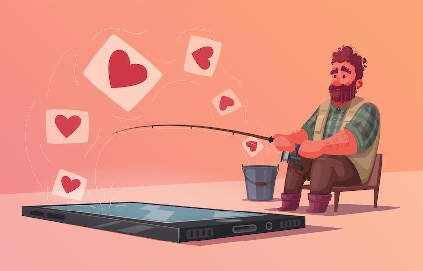 Når det går fra dating til et forhold