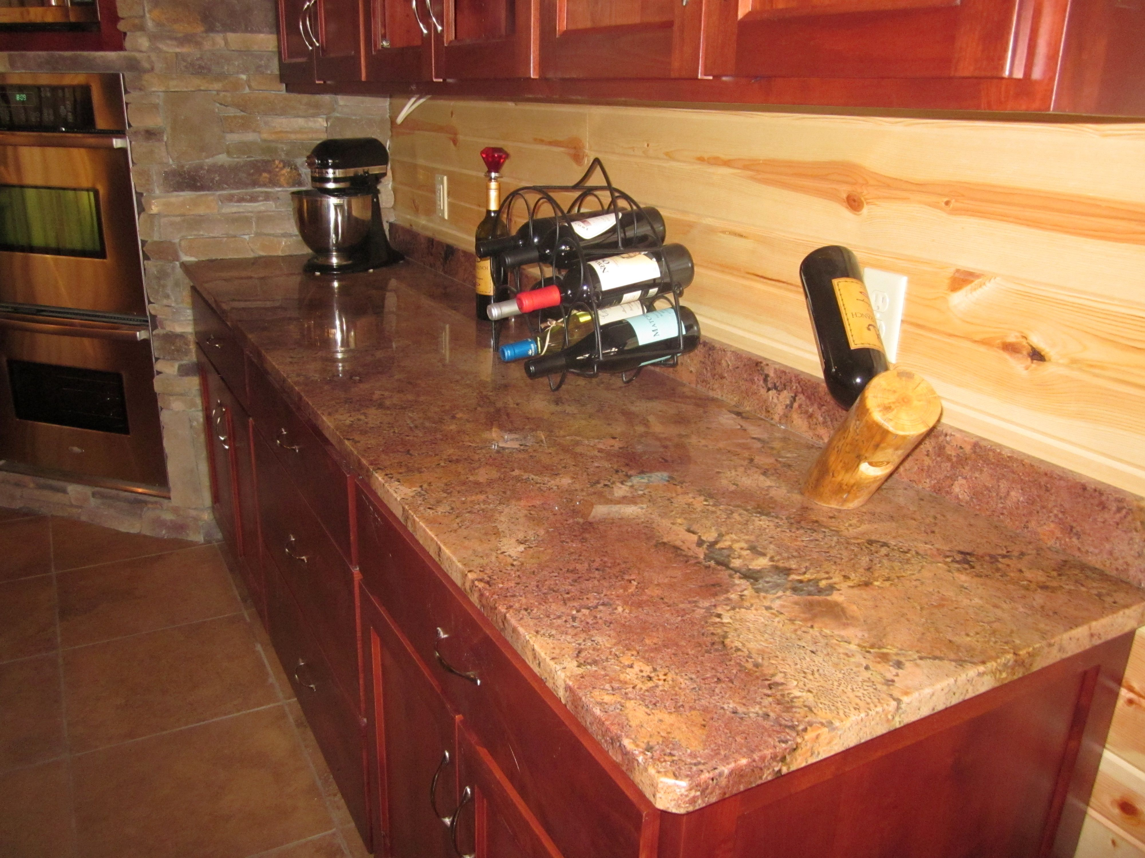 28 best Vibrant Red Granite Kitchen Countertops images on ...