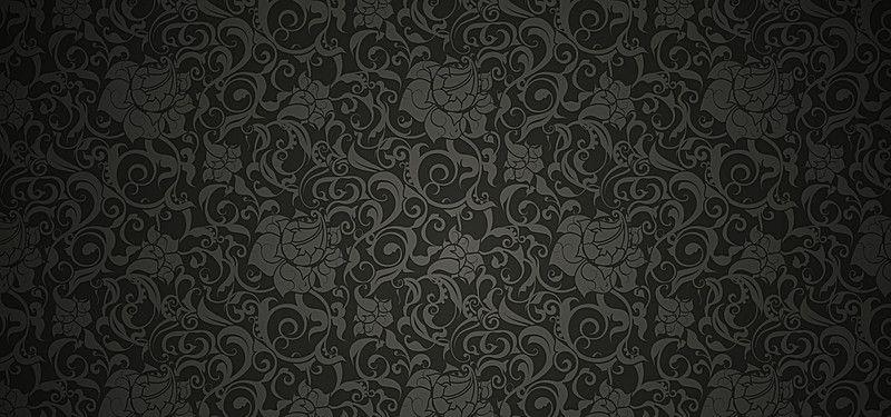 Wallpaper Black Pattern Background