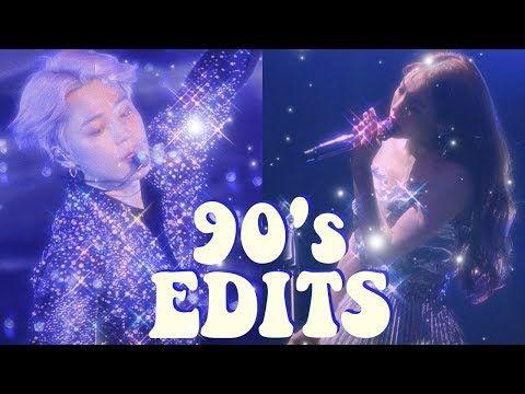 how to make retro 80's 90's edits (video&photo) // app