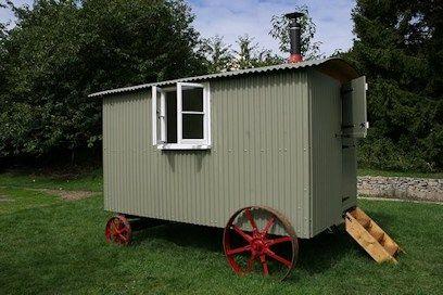 Lovely shepherd's hut