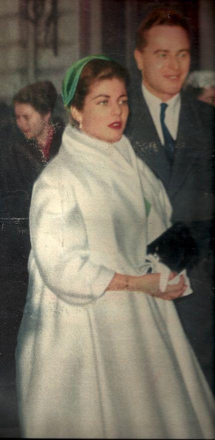 Princesse h l ne d 39 orl ans et son futur mari evrard de - Helene carrere d encausse et son mari ...