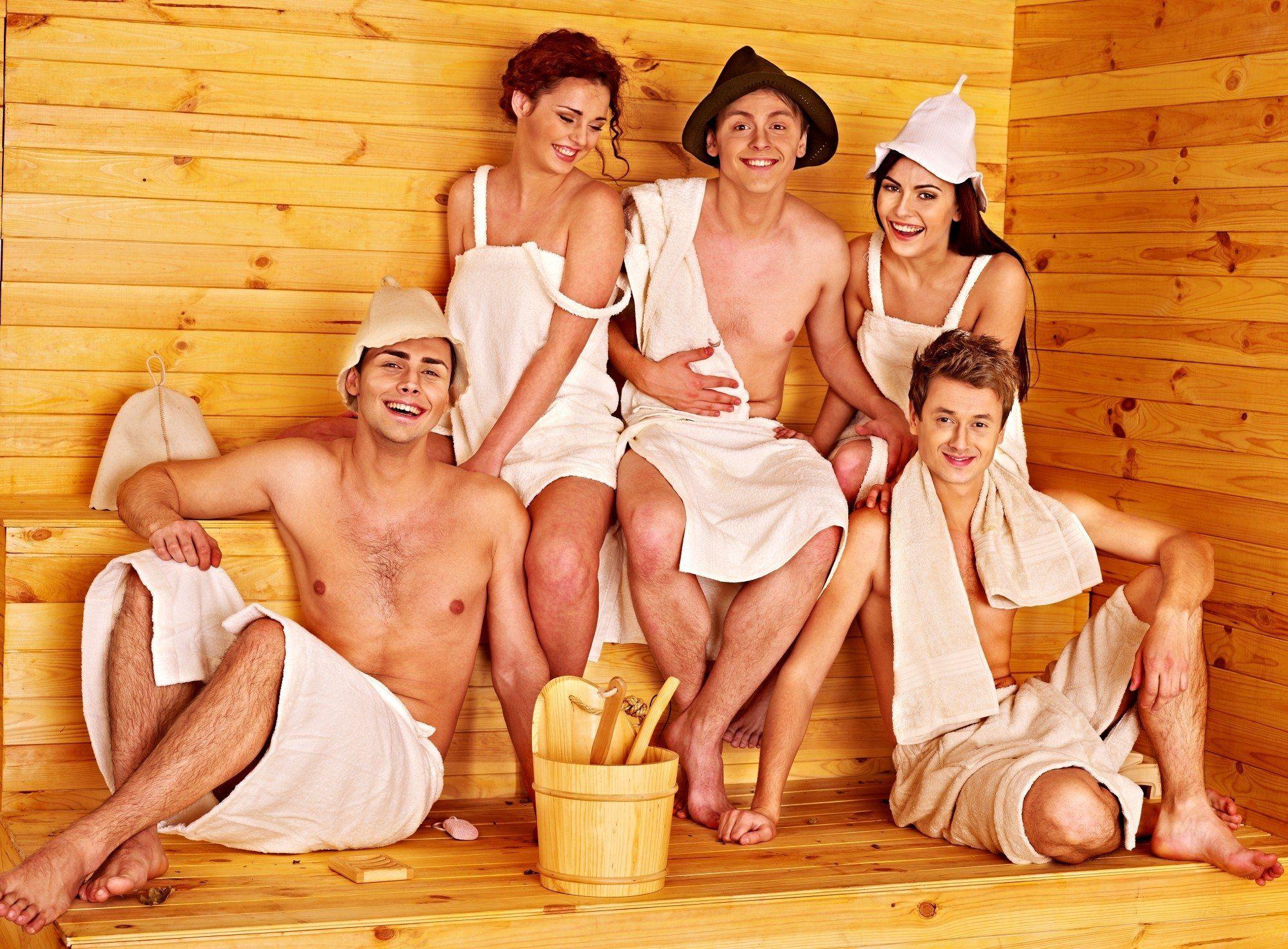 фото женщин в бане с мужиками
