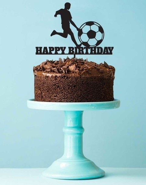 soccer party supplies partyfide soccer cake topper little