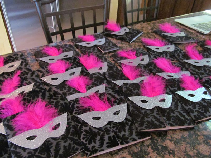 Masquerade Invitations For Sweet 15