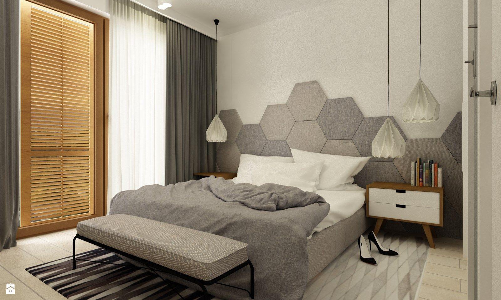 Camera Da Letto Stile Minimalista : Camera da letto stile minimal testata letto esagonale x b&b