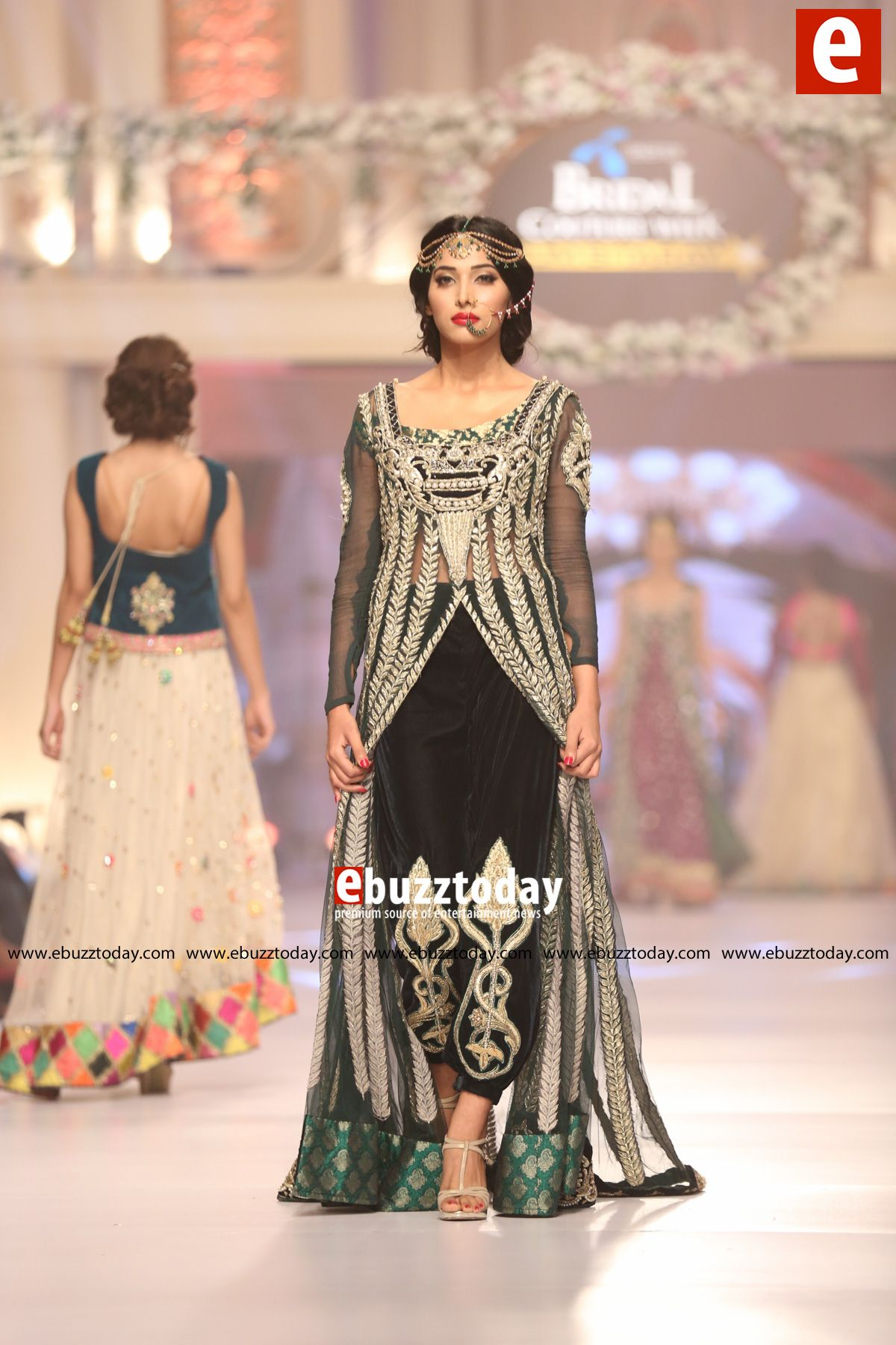Mughal Tabassum formal wear dresses collection pictures video