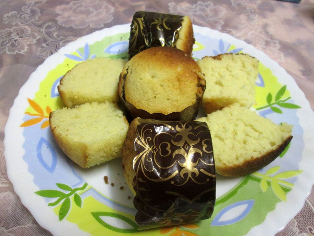کاپ کیک ساده