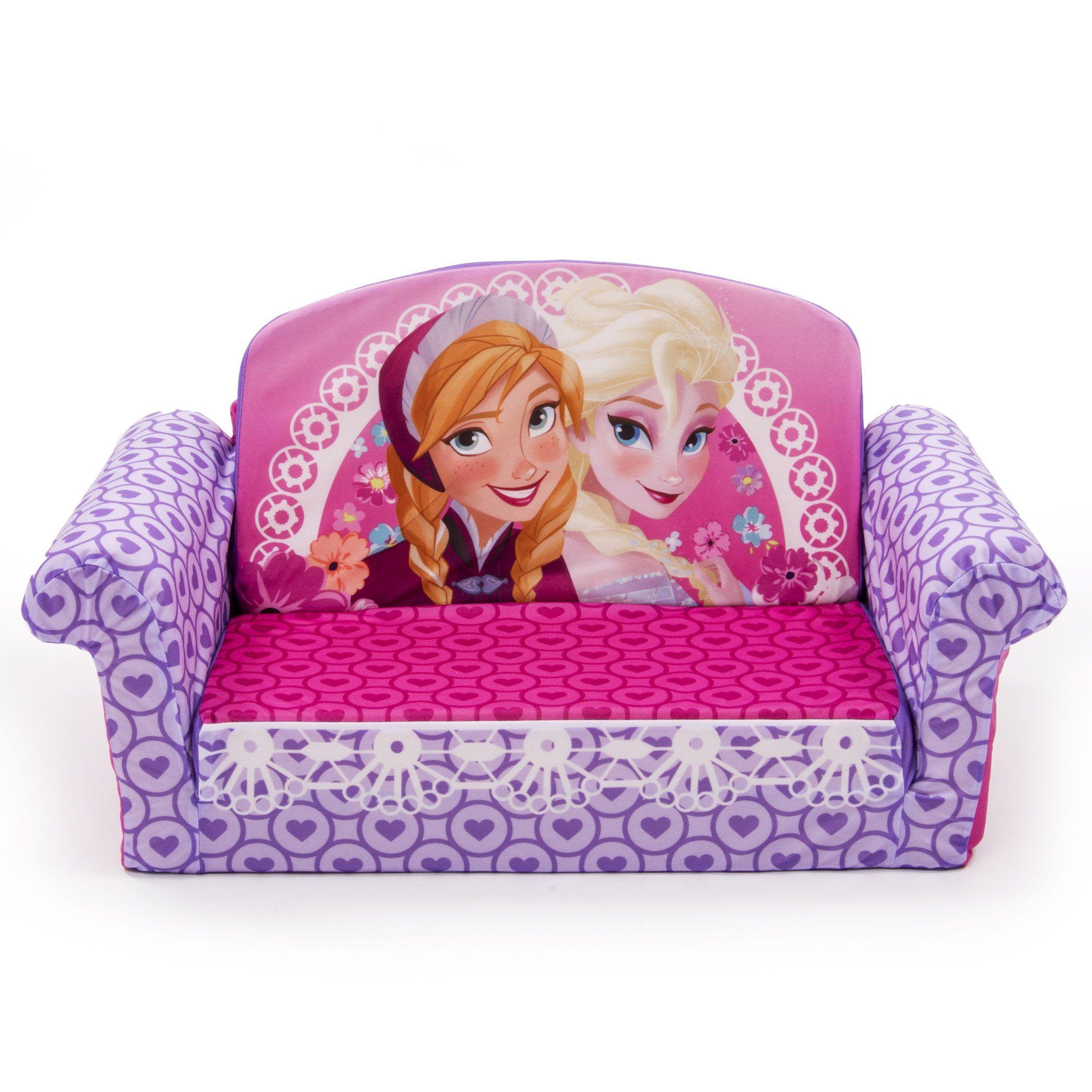 Marshmallow Children S Furniture Disney Frozen Flip Open Sofa