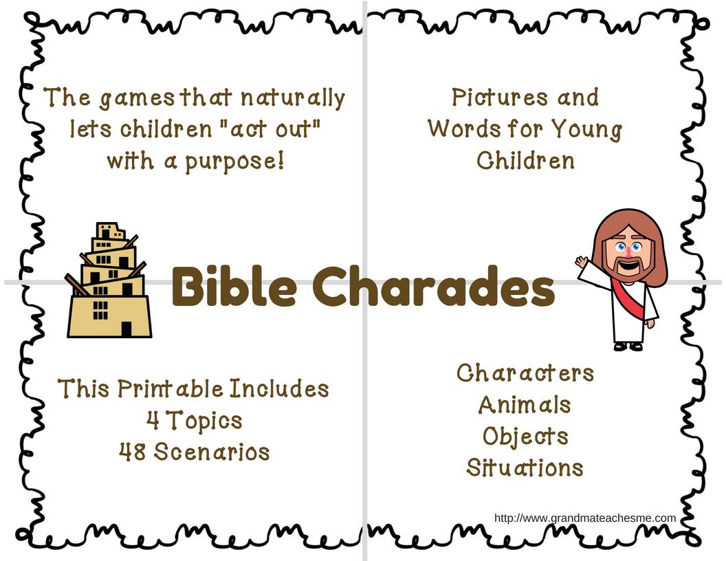 Christian Printable Activities