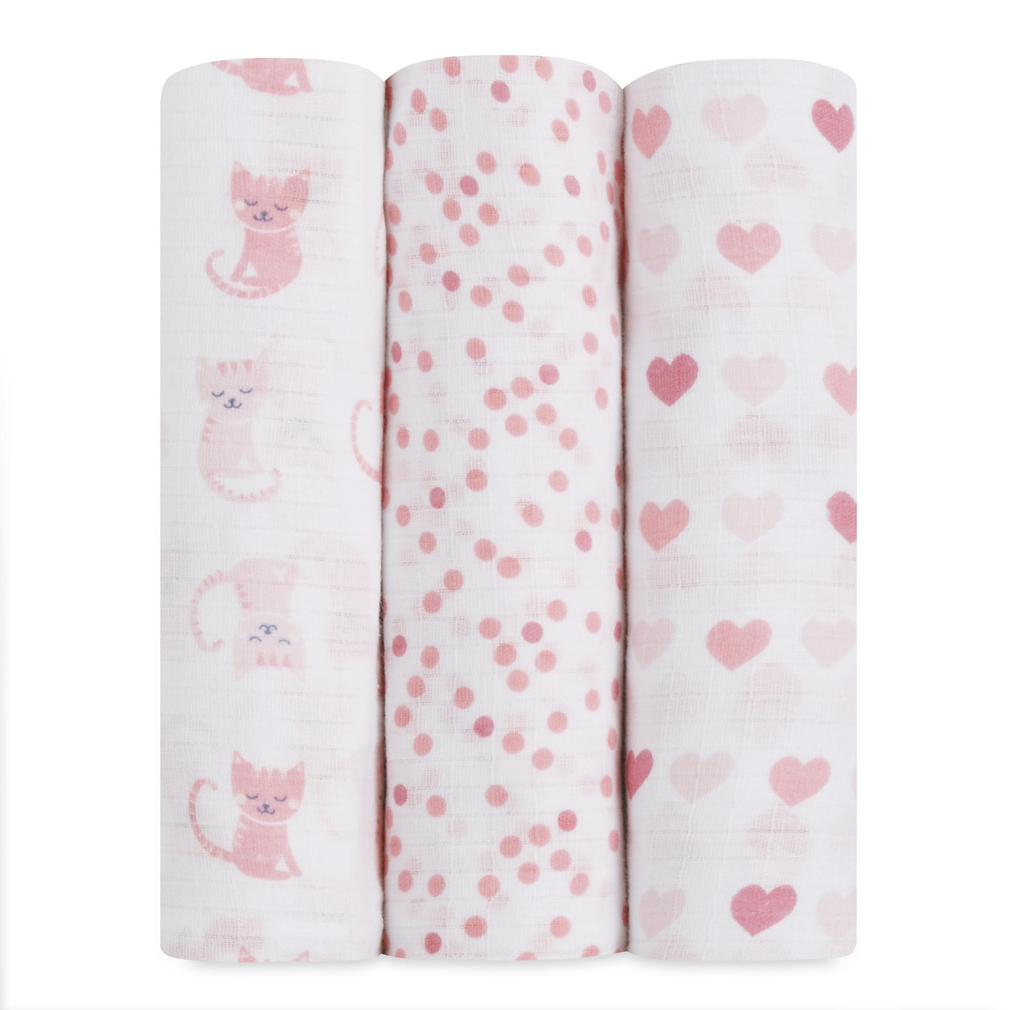 Wrap Your Little One In Dreamy Comfort With This Three Pack Of Infant Girls Strong Swaddle Blankets Strong With Images Aden Anais Swaddle Swaddle Baby Swaddle Blankets