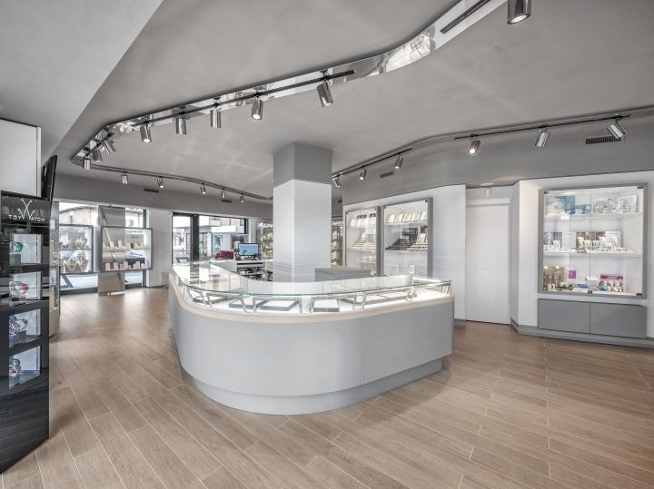 Cozzari Jewelry By AMlab Umbertide Italy Retail Design Blog