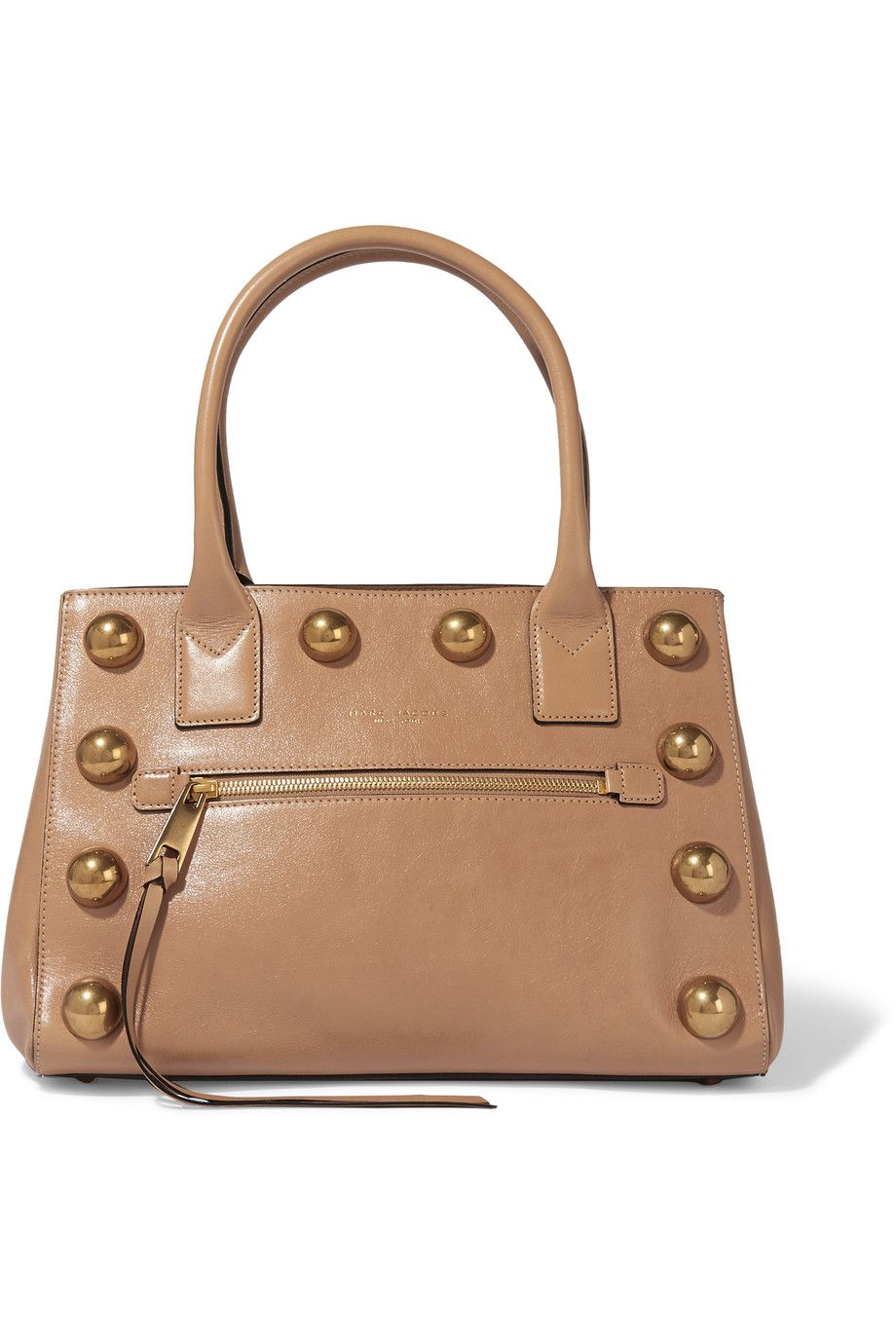 9d3bd6fcc977 MARC JACOBS The Not So Big Apple Studded Leather Tote.  marcjacobs  bags   hand bags  suede  tote