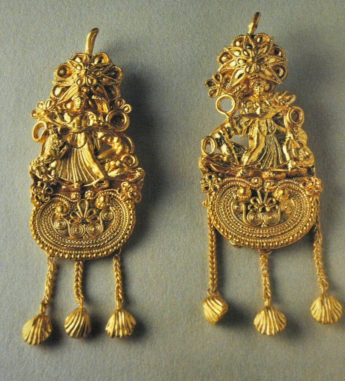 ancient Greek earrings | Neoclassical 2011 Collection ...