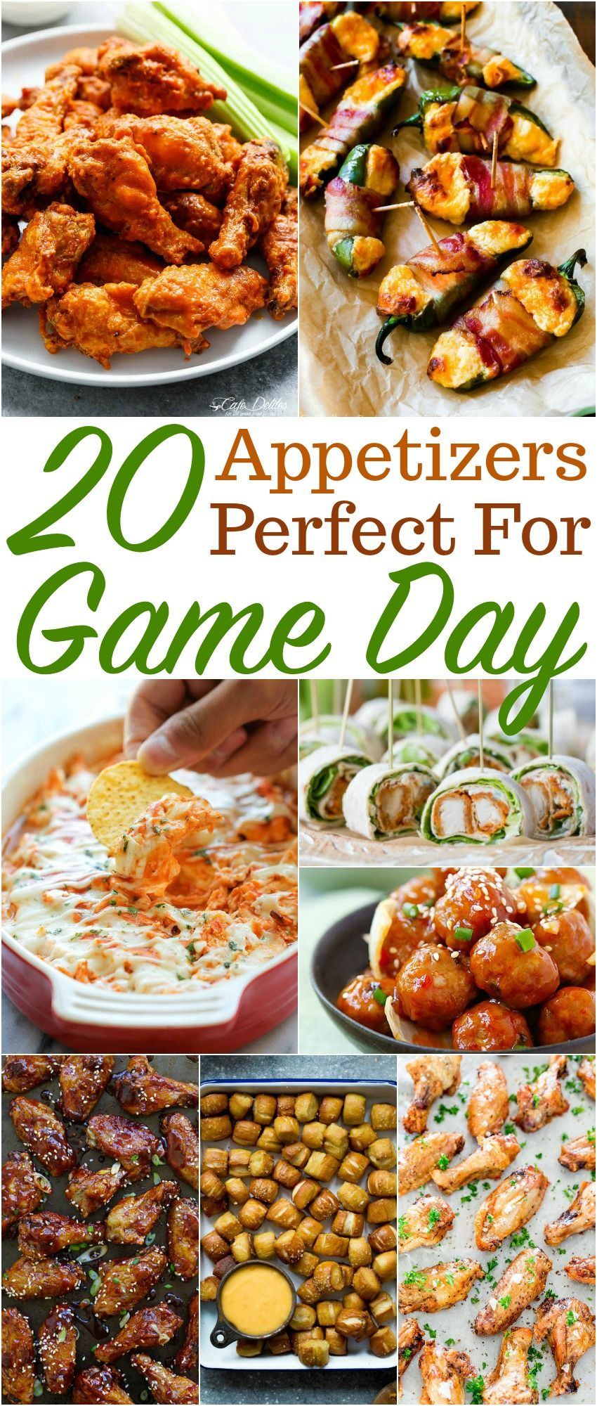 Easy Superbowl or Game Day Snack Ideas Football party