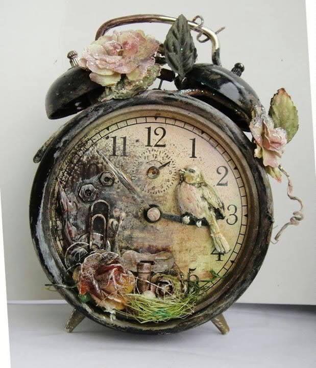 Beautiful Things Clock Art