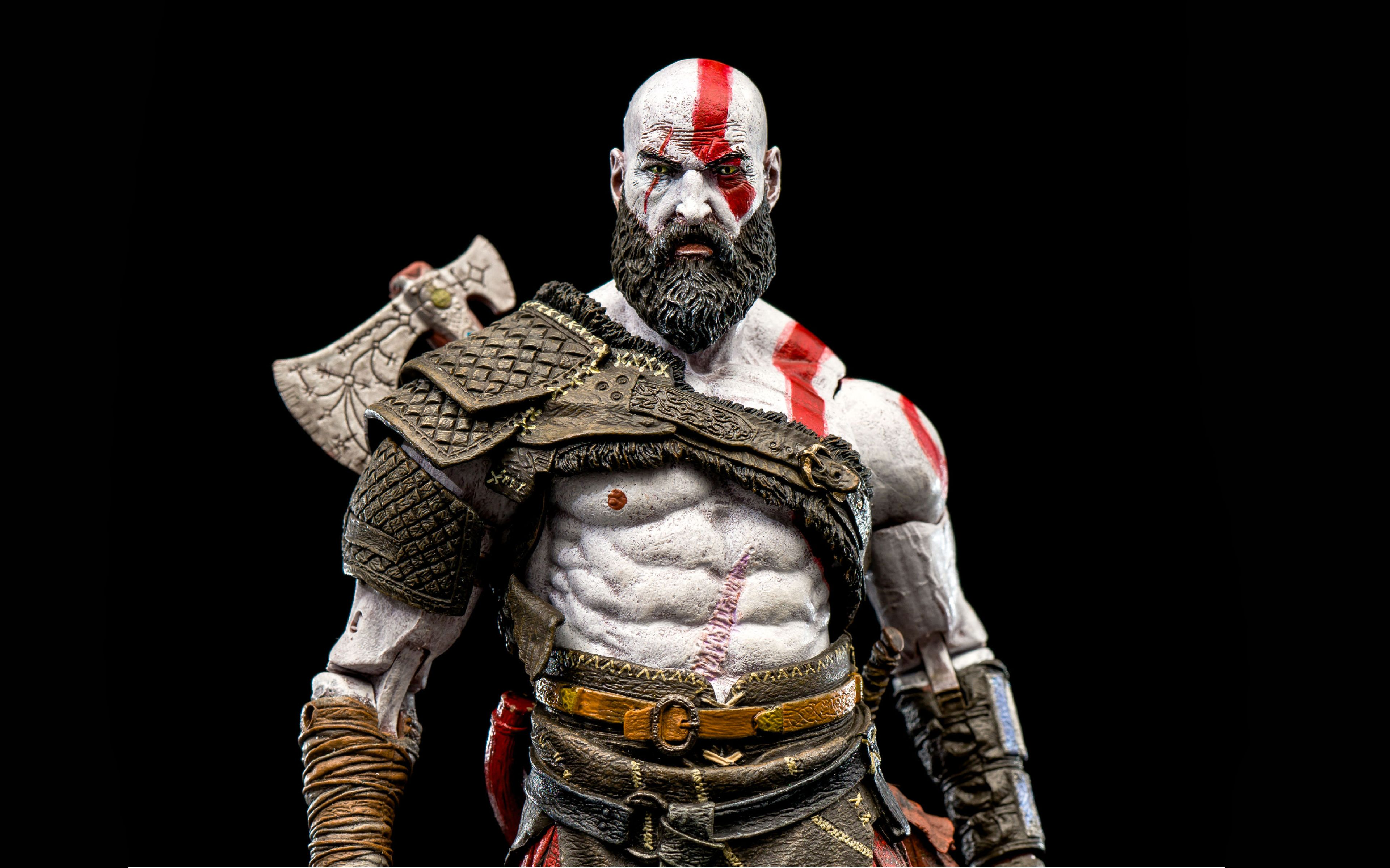 God Of War Kratos 2018 4k Wallpapers God Of War War God