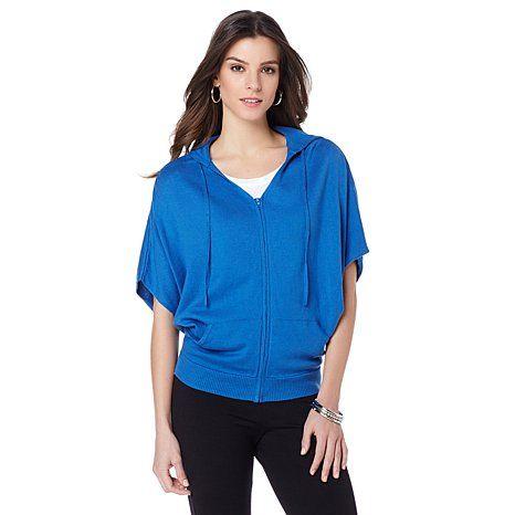 12faefe6efb80 WD.NY Sweater Knit Sleeveless Mock Turtleneck Side Slit Top on sale at evine.com