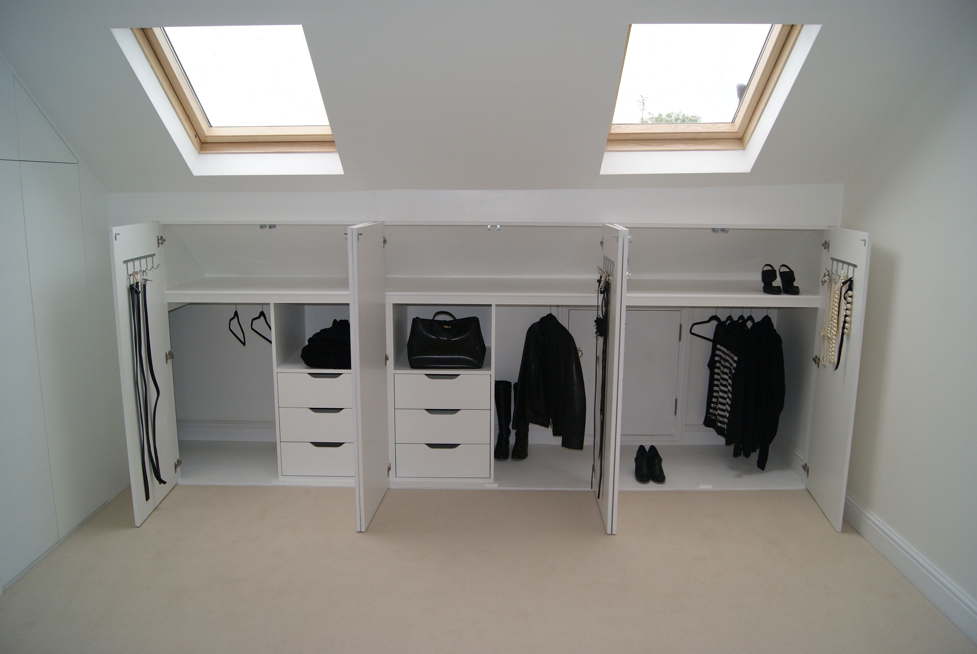 8 Stunning DIY Bedroom Storage Ideas  Loft conversion bedroom