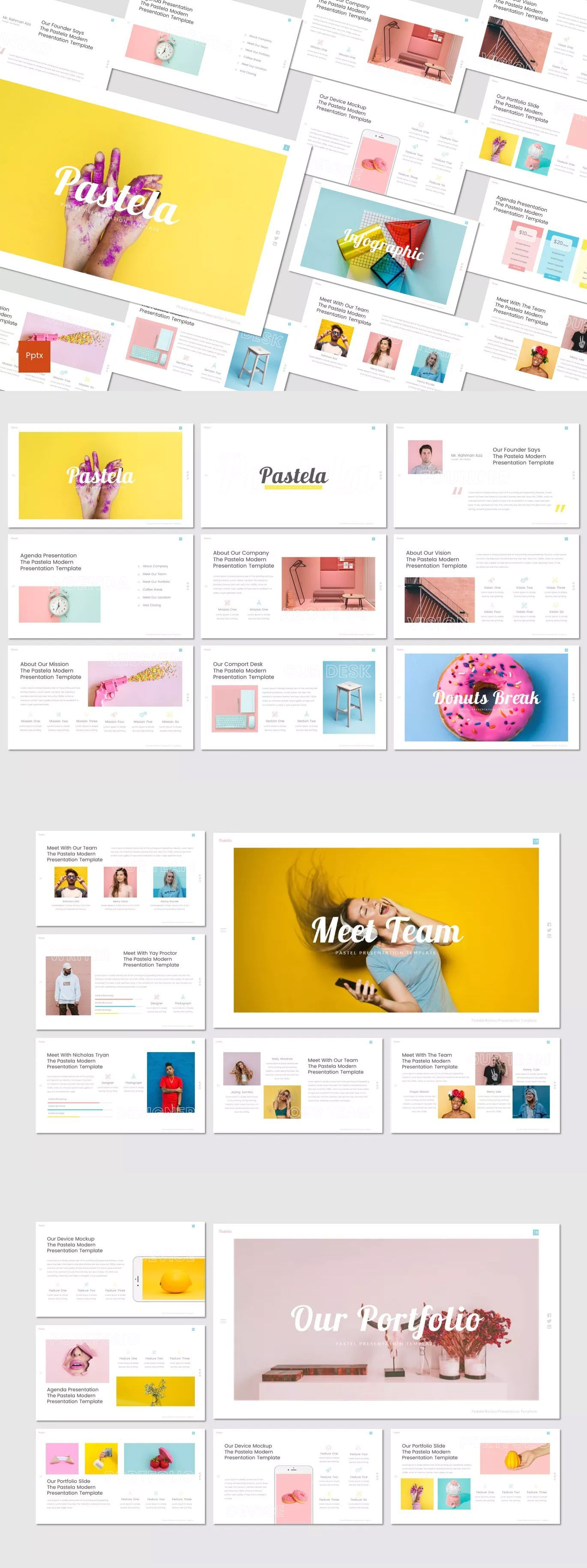 Cake  Powerpoint Presentation Template  Cake  Powerpoint Presentation Template Download