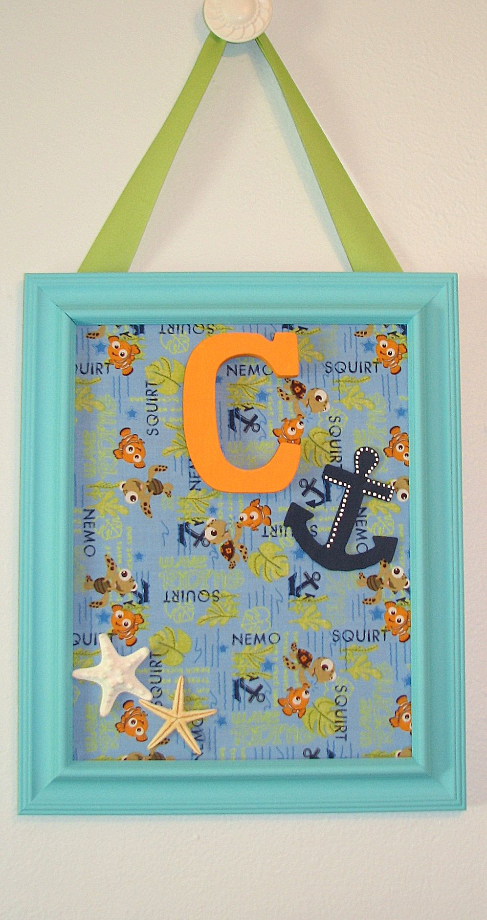 Finding Nemo Baby Bedroom Set: COPYRIGHT @Seth Apart Creations 2012 My Latest Creation