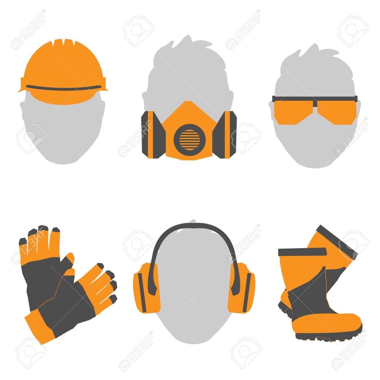 Seguridad Y Salud En El Trabajo Conjunto De Iconos Y Senales De Seguridad E Higiene Higiene Y Seguridad En El Trabajo Seguridad Y Salud Laboral