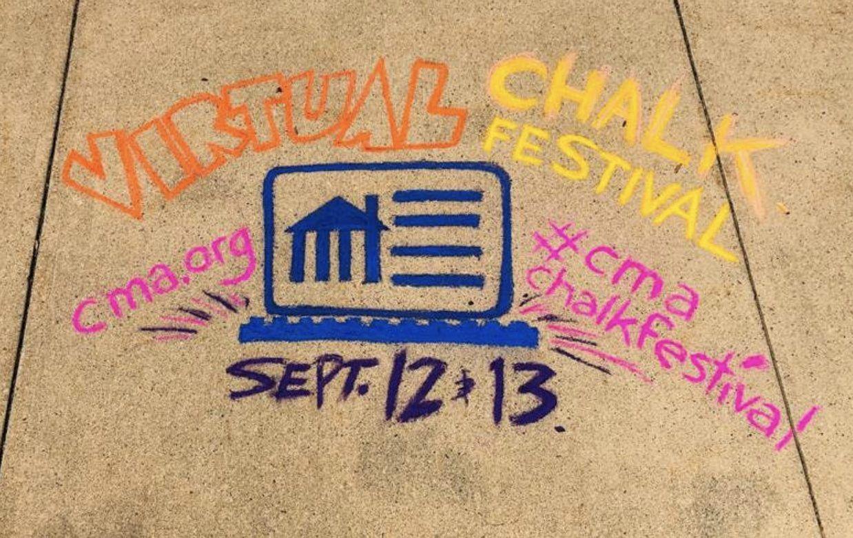 Cmas virtual chalk festival northeast ohio parent in