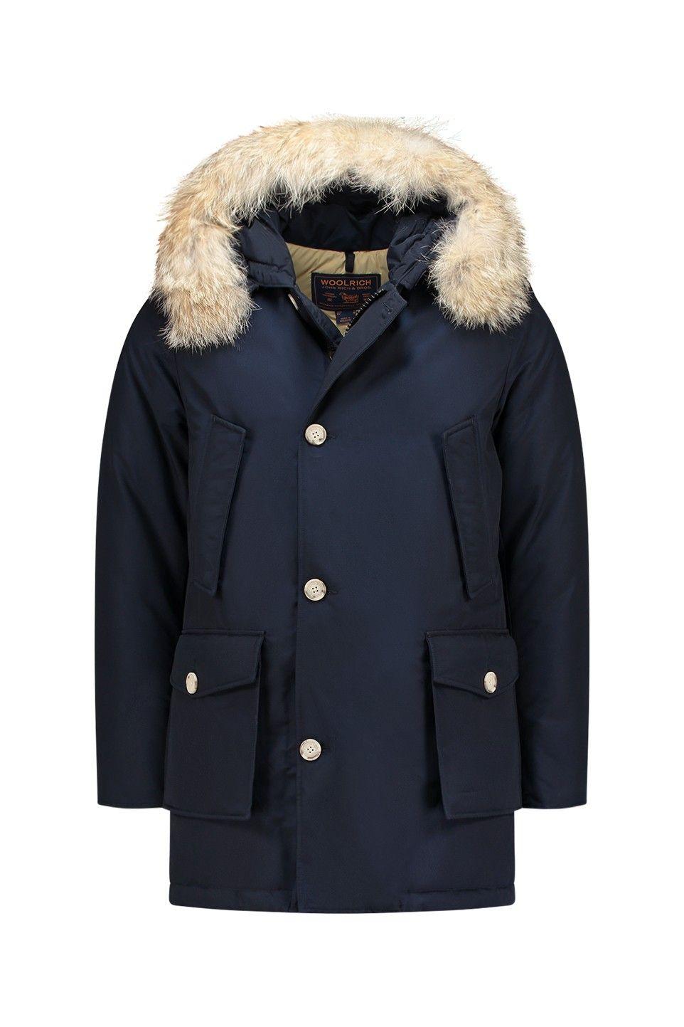 22e37378086549 Woolrich Arctic Parka DF Melton Blue - WOCPS1674 CN01 MLB - MERKEN Bloom  Fashion