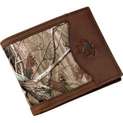 b0fe6084d2b08 Genuine leather in Realtree AP™ Camo with plenty of spots for your  valuables. Including 6 card slots, protective ID window, two currency  pockets, ...