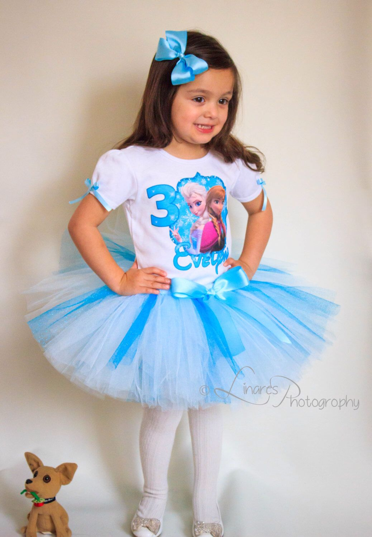 Frozen Birthday Outfit, Birthday Girl Outfit, Frozen Tutu