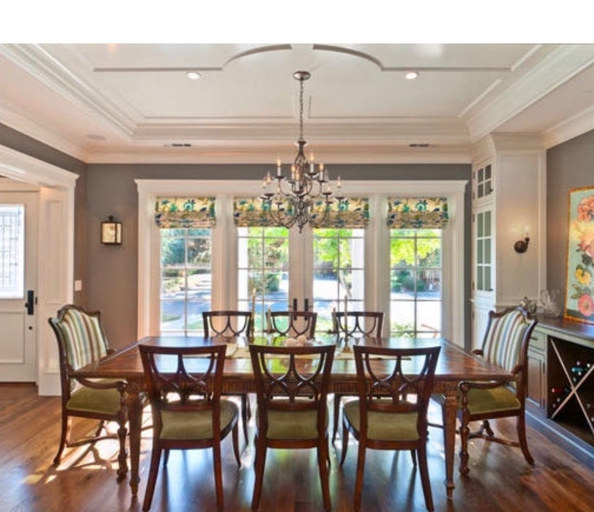 Portfolio of work traditional dining room san francisco viscusi elson interior design