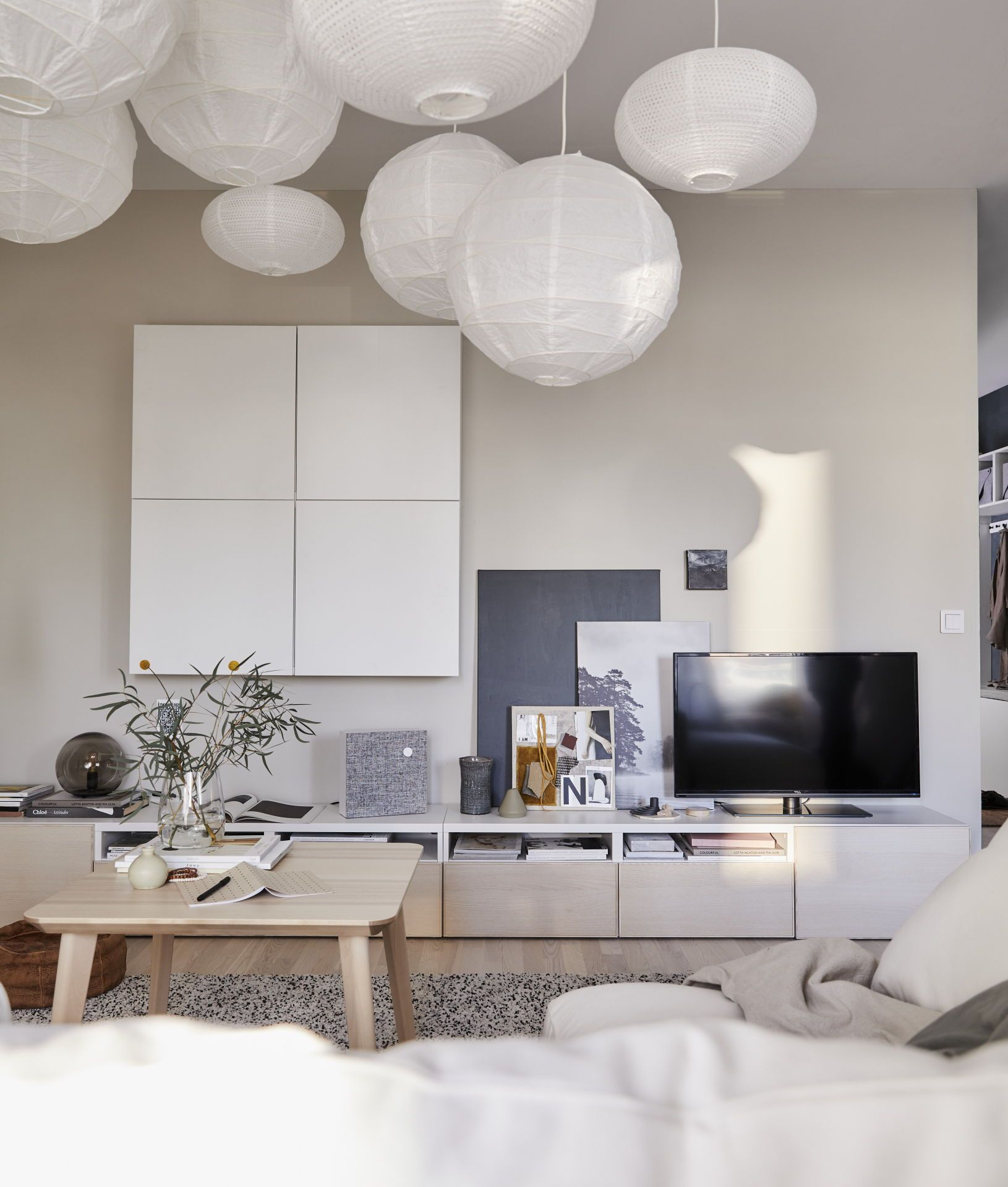 Ikea Tv Meubel Zwartbruin.Besta Tv Meubel Zwartbruin In 2019 Tiny House Tv Meubels Ikea