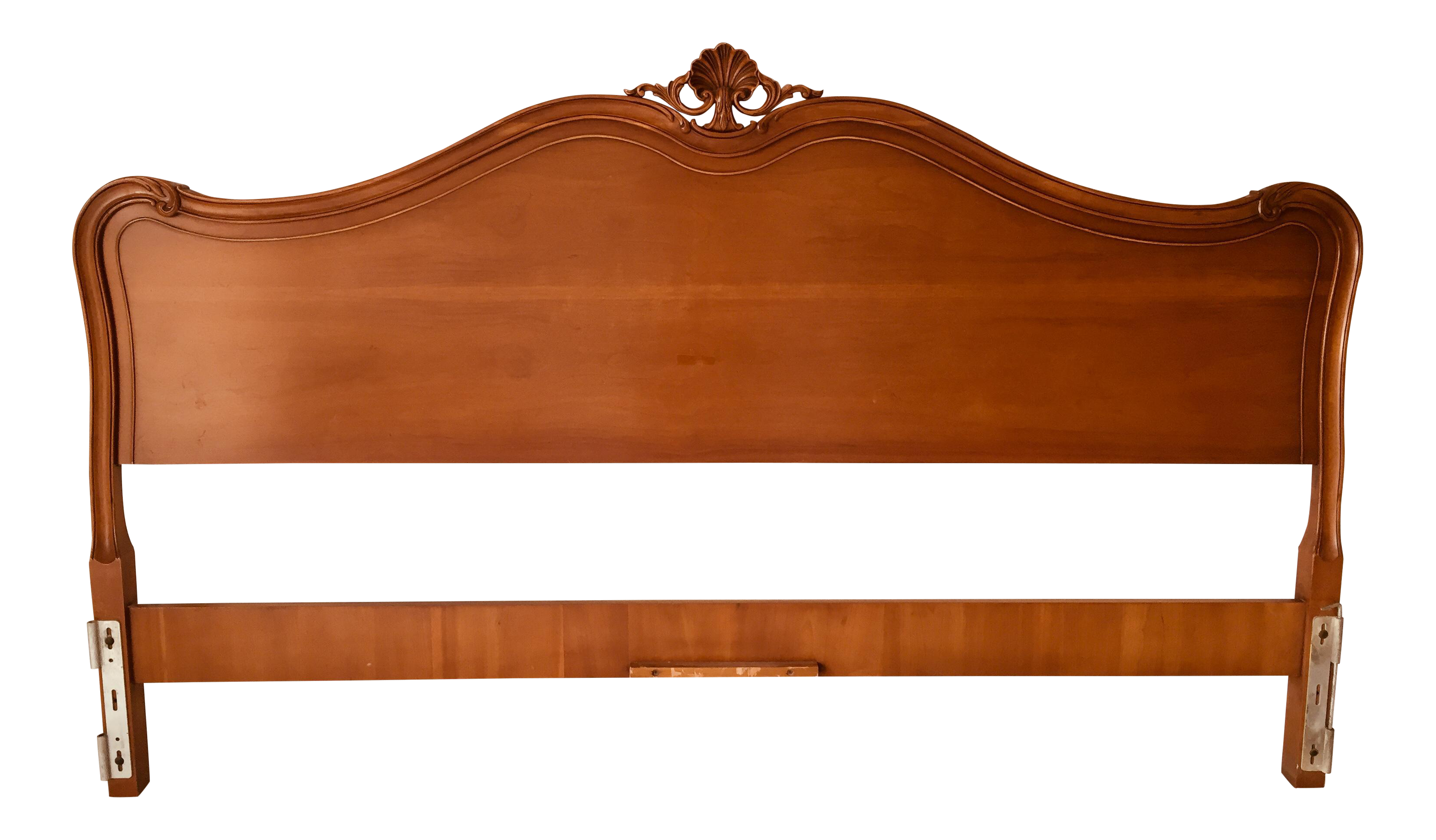 Drexel French Style Cherry Wood King Size Headboard On Chairish Com Headboard King Size Headboard Cherry Wood
