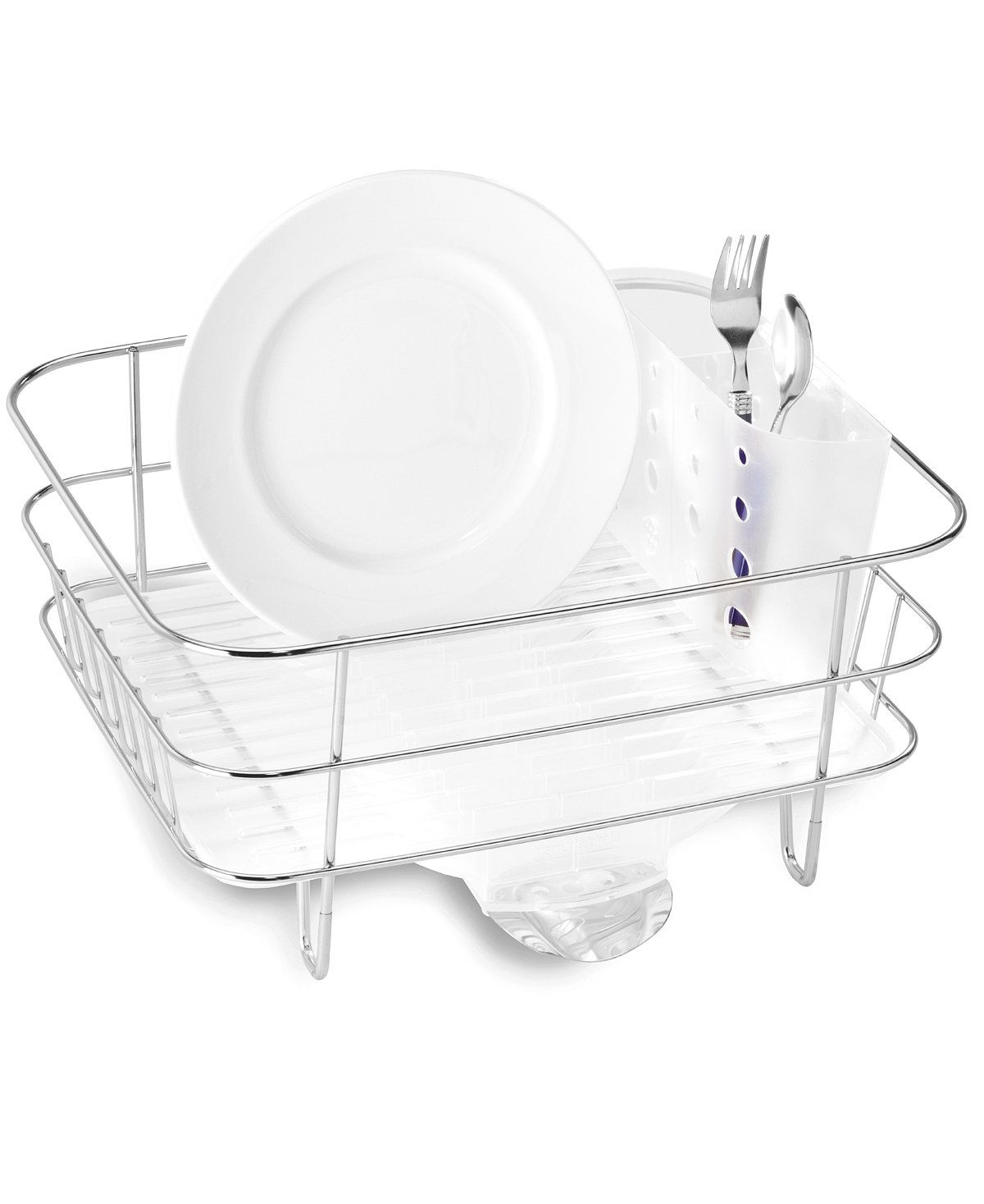 simplehuman Compact Wire Frame dish rack - Kitchen Gadgets - Kitchen - Macy's