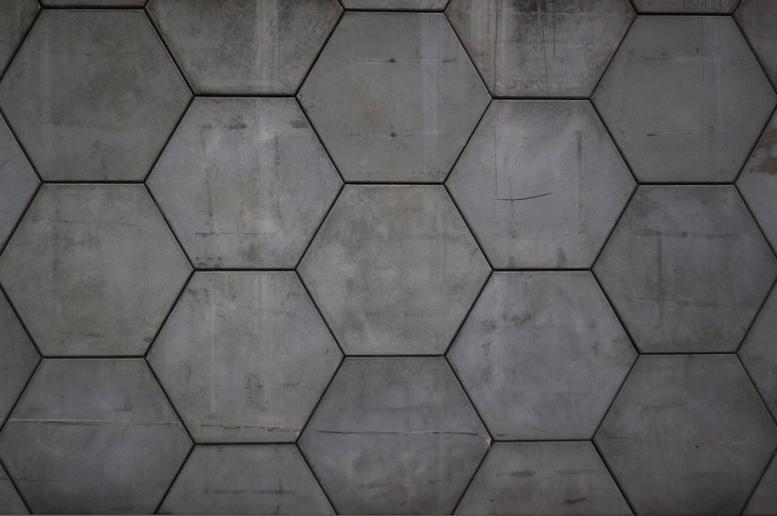 Hexagonal Panel Concrete Pavers Dream Home