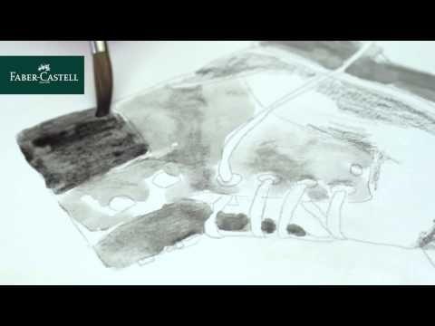Faber Castell Watercolor Pencil Graphite Aquarelle The Art