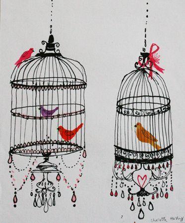 Oriental Birds  Charlotte Hardy