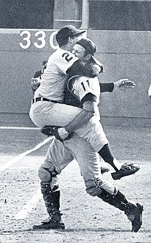 The Detroit Tigers 1968 World Series Victory.