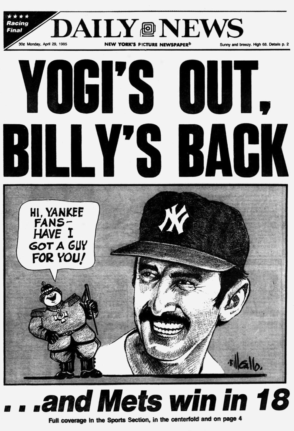 Yogi Berra 19252015 Yogi Berra dead at age 90 The