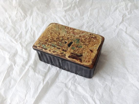 Early 1800's Paper Mache Japanese Lacquered Snuff Box on Etsy, £28.00