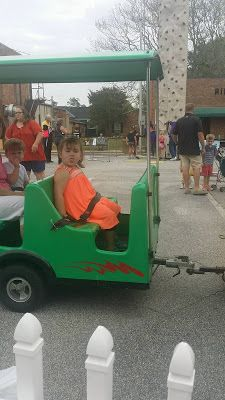fall festival, train ride, ridge spring sc, girl on a train, saturday fun on the cheap